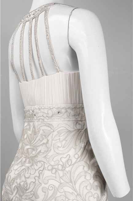 Sue Wong Sleeveless Sheath Embroidered Dress Image 5