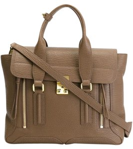 3.1 Phillip Lim Pashli Taupe Satchel in Taupe/Light brown