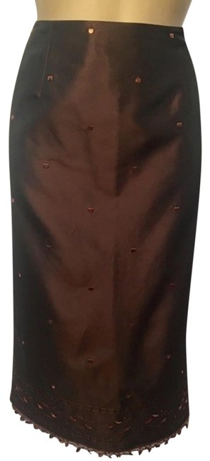 Preload https://img-static.tradesy.com/item/21003044/ann-taylor-brown-sequin-embroidered-skirt-size-6-s-28-0-3-650-650.jpg