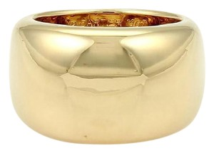 Cartier Cartier Nouvelle Vague 18k Yellow Gold Wide Dome Ring Size EU 57-US 8 - item med img
