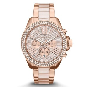 Michael Kors $400 NWT Rose Gold-Tone Wren Watch MK6096