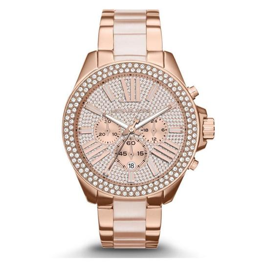 Preload https://img-static.tradesy.com/item/21003098/michael-kors-rose-gold-blush-gold-tone-wren-mk6096-watch-0-0-540-540.jpg