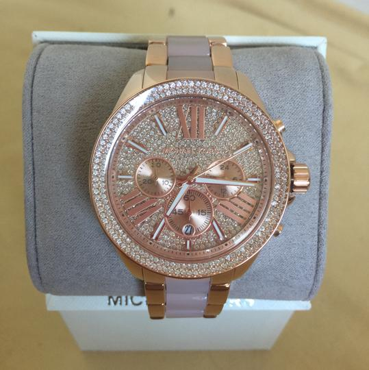 Michael Kors $400 NWT Rose Gold-Tone Wren Watch MK6096 Image 2