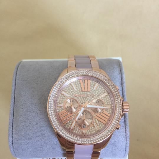 Michael Kors $400 NWT Rose Gold-Tone Wren Watch MK6096 Image 3