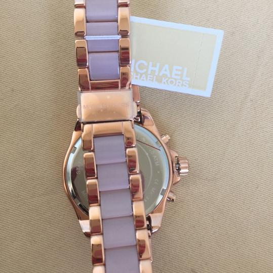 Michael Kors $400 NWT Rose Gold-Tone Wren Watch MK6096 Image 6