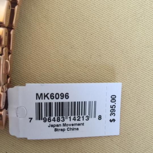 Michael Kors $400 NWT Rose Gold-Tone Wren Watch MK6096 Image 8