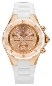 Michele $400 NWT MICHELE JELLY BEAN ROSE Gold/ WHITE MWW12F000030