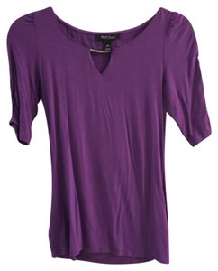 White House | Black Market Top Purple