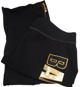 Baby Phat Athletic Logo Gold Foil Pants
