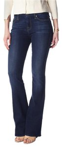 7 For All Mankind Seven A Pocket Flare Leg Jeans-Dark Rinse