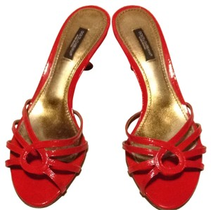 Dolce&Gabbana Dolce & Gabbana Red Sandals