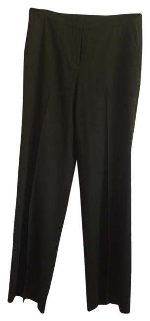 Item - Olive Straight-leg Slacks Lightweight Pants Size 8 (M, 29, 30)