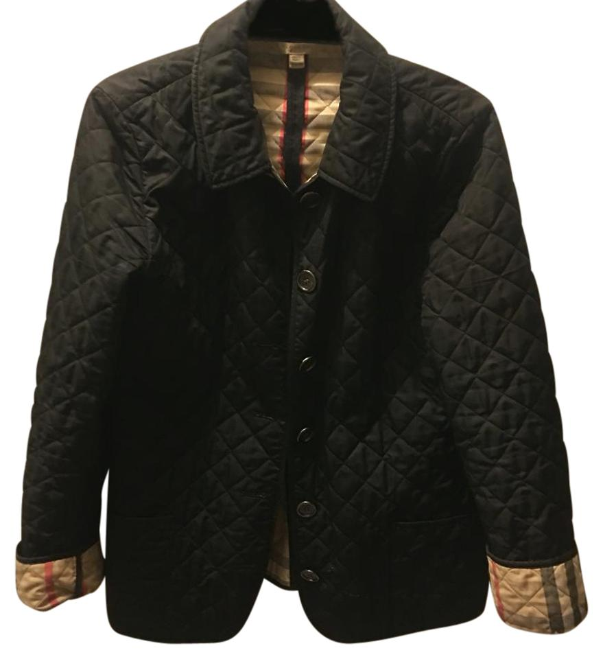 97bc29f03 Burberry Black Ashurst Classic Modern Quilted Jacket Size 12 (L) 34% off  retail