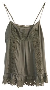 BCBGMAXAZRIA Top Light Olive Green
