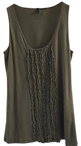 United Colors of Benetton Top Olive Green