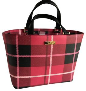 Kate Spade Tote in Hot Pink Plaid