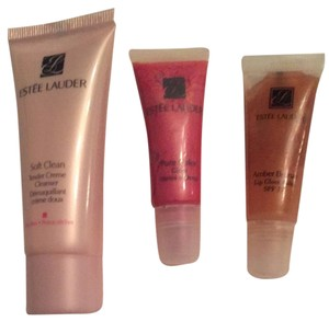 Estée Lauder Lip Gloss And Cleanser