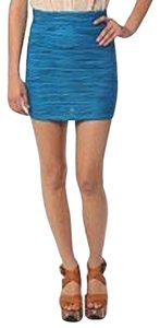 Urban Outfitters Mini Skirt turquoise