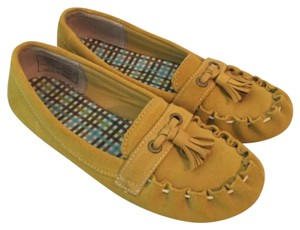 Lands' End Yellow And Gold Flats