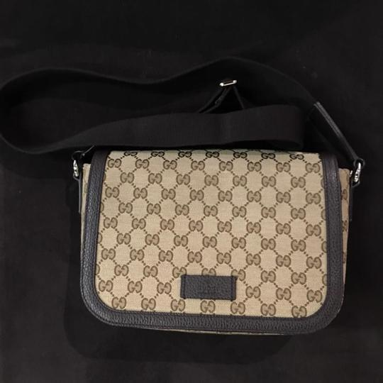 Gucci dark brown Messenger Bag Image 1
