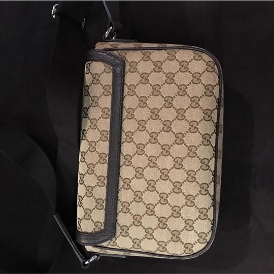 Gucci dark brown Messenger Bag Image 4