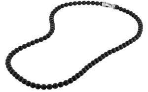 David Yurman Spiritual Bead Necklace with 5mm Black Onyx 23