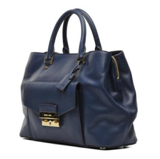 Michael Kors Satchel in Navy Image 2