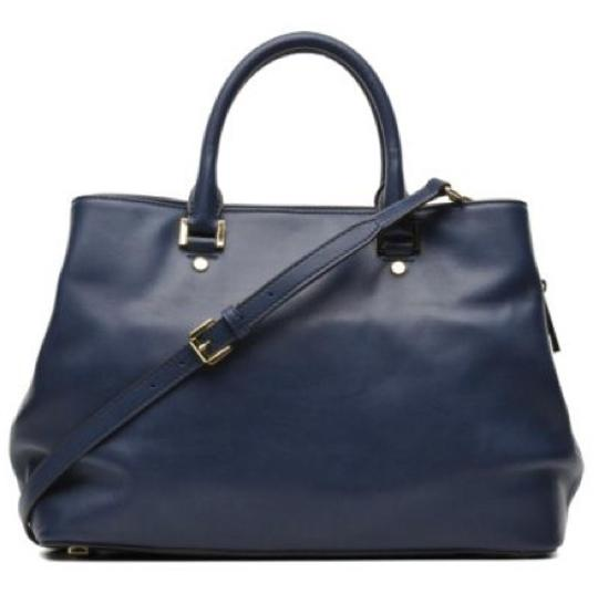 Michael Kors Satchel in Navy Image 4
