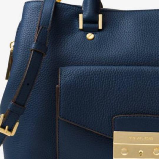 Michael Kors Satchel in Navy Image 5