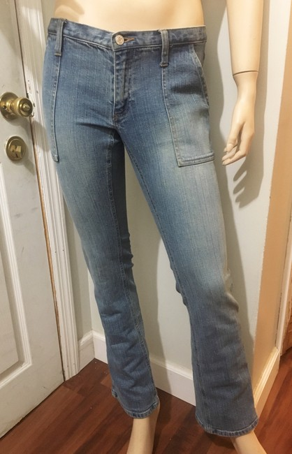 Gap Straight Leg Jeans-Light Wash Image 4