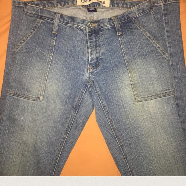 Gap Straight Leg Jeans-Light Wash Image 5