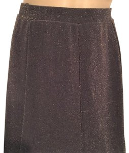 Chico's Skirt Brown & Gold
