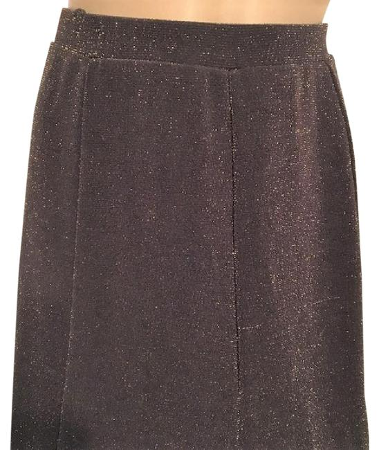 Chico's Skirt Brown & Gold Image 1