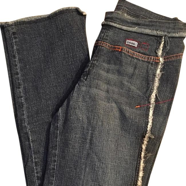 Diesel Straight Leg Jeans-Medium Wash Image 1