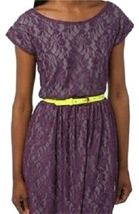 Urban Outfitters short dress Dark Purple Lace on Tradesy