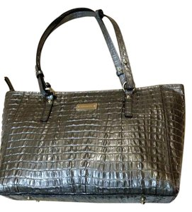 Brahmin Tote in Pewter