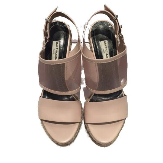 Balenciaga Blush Wedges Image 2