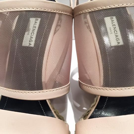 Balenciaga Blush Wedges Image 3