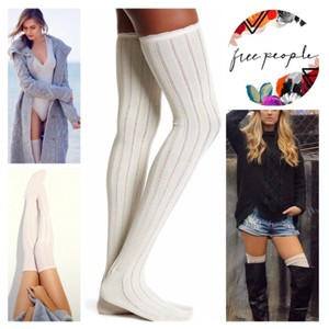 Free People FREE PEOPLE Tall Over The Knee Boot Socks Thigh Highs