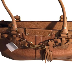 Coach Satchel in B4/Camel