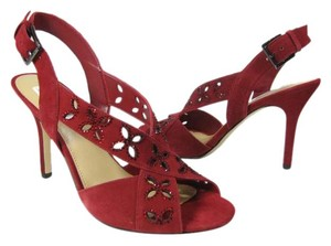 Michael Kors cherry red Sandals