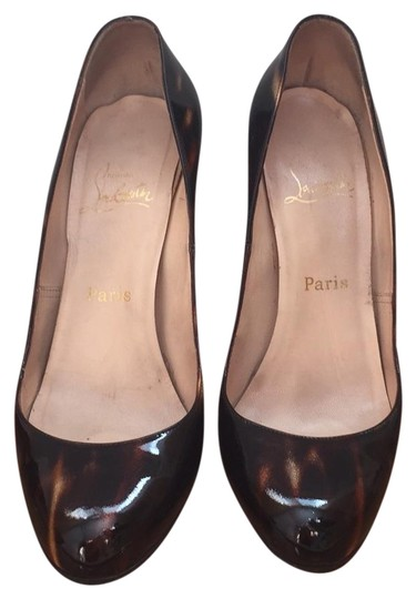 Christian Louboutin brown glittart Pumps Image 0