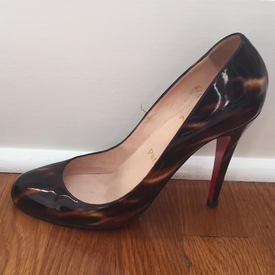 Christian Louboutin brown glittart Pumps Image 1