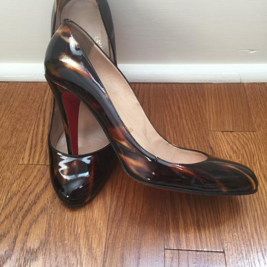 Christian Louboutin brown glittart Pumps Image 3