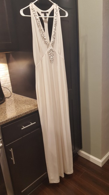Ivory Maxi Dress by Victoria's Secret Bridal Shower Beach Embellished Image 2