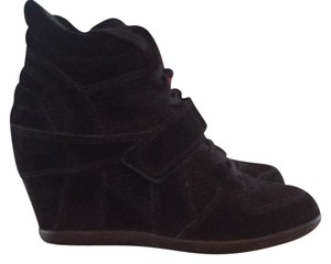 Ash black suede Athletic