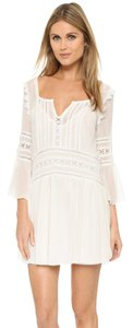 Tularosa short dress White Zimmermann Tory Burch Rebecca Taylor Elizabeth James Alice Olivia on Tradesy