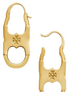 Tory Burch New Tory Burch Gemini Link Drop Earrings 16k Gold