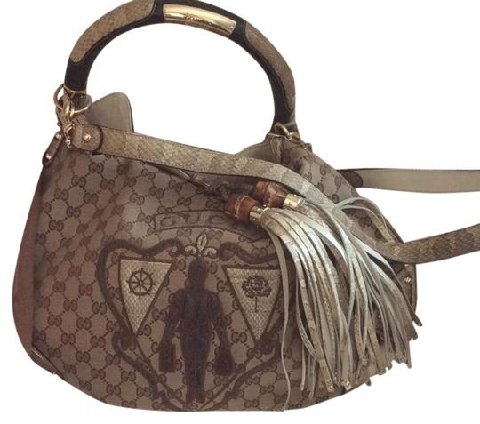 Preload https://img-static.tradesy.com/item/21004574/gucci-cream-and-browns-python-leather-snake-suede-could-be-alligator-just-a-stunning-one-of-a-kind-h-0-1-540-540.jpg