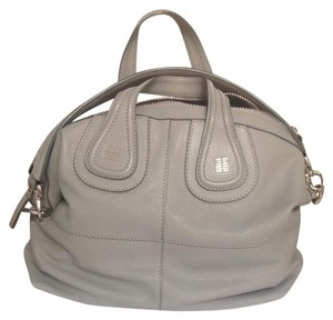 Givenchy Spring Gray Grey New Satchel in Pale gray